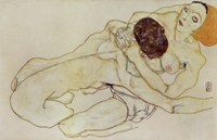 Two Girls (Lovers), 1914 by Egon Schiele, 1914 - various sizes
