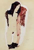 Two Reclining Girls, 1911 by Egon Schiele, 1911 - various sizes, FulcrumGallery.com brand
