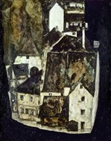 City On The Blue River III, 1911 by Egon Schiele, 1911 - various sizes
