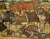 Yellow City, 1914 Fine Art Print