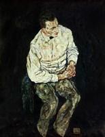 Portrait Karl Gruenwald by Egon Schiele - various sizes