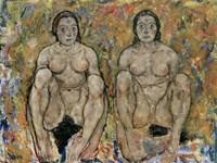 Squatting Women, 1918 by Egon Schiele, 1918 - various sizes