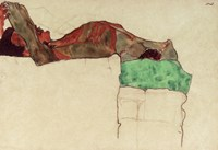 Reclining Male Nude With Green Cloth, 1910 Fine Art Print