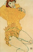 Woman Undressing, 1914 Fine Art Print