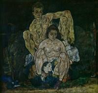 Family, 1918 by Egon Schiele, 1918 - various sizes
