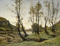 The Aumance Valley, 1875 by Henri Joseph Harpignies, 1875 - various sizes