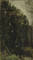 Forest And Brook by Charles Francois Daubigny - various sizes