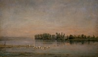 Morning by Charles Francois Daubigny - various sizes