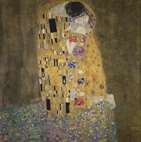 The Kiss-1908 by Gustav Klimt, 1908 - various sizes