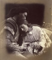 The Parting Of Lancelot And Queen Guenievre,  1874-1875 Fine Art Print
