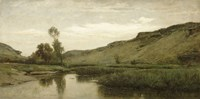 The Valley Of Optevoz, 1857 Fine Art Print