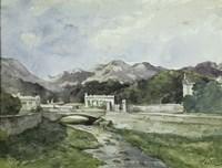View of Menton Fine Art Print
