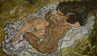 Embrace by Egon Schiele - various sizes