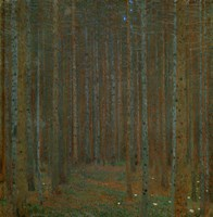 Tannenwald (Pine Forest), 1902 Framed Print
