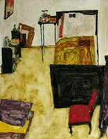 The Artist'S Room In Neulengbach, 1911 by Egon Schiele, 1911 - various sizes