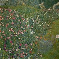 Italian Garden Landscape, 1917 by Gustav Klimt, 1917 - various sizes