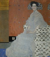 Mrs.  Fritza Riedler, 1906 by Gustav Klimt, 1906 - various sizes