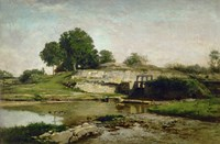 La Vanne D'Optevoz (Isere), 1859 by Charles Francois Daubigny, 1859 - various sizes