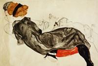 Couple (Liebespaar), 1912 by Egon Schiele, 1912 - various sizes
