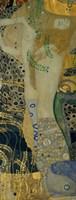 Wasserschlangen (Watersnakes)-1907 by Gustav Klimt, 1907 - various sizes