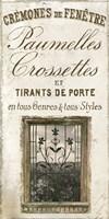 Signes Francais I Framed Print