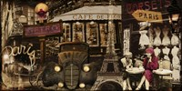 Streets of Paris I by Color Bakery - various sizes, FulcrumGallery.com brand