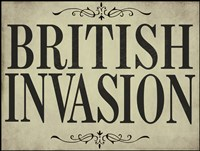 British Invasion Framed Print