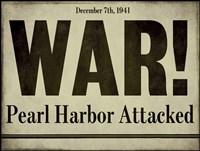 Pearl Harbor Framed Print