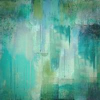 Aqua Circumstance Fine Art Print
