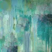Aqua Circumstance II Fine Art Print