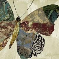 Butterfly Brocade II Fine Art Print