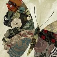 Butterfly Brocade III Fine Art Print