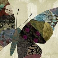 Butterfly Brocade IV Fine Art Print