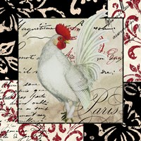 Europa White Rooster by Color Bakery - various sizes
