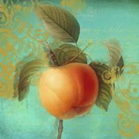 Glowing Fruits III Framed Print