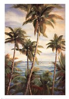 Tropical Paradise I Fine Art Print
