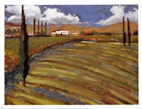 Pastoral Fields I Fine Art Print