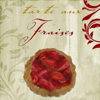 Tartes Francais, Strawberry Framed Print