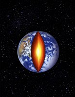 Earth's Core Fine Art Print