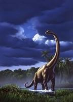 Brachiosaurus Fine Art Print
