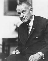 President Lyndon B Johnson