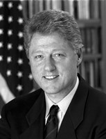 President Bill Clinton by John Parrot - various sizes