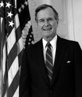 President George HW Bush by John Parrot - various sizes