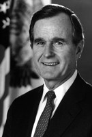 Digitally Restored George HW Bush by John Parrot - various sizes