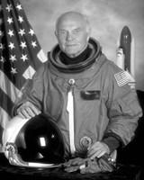 Astronaut John Glenn Fine Art Print