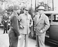 Harry Truman with General Eisenhower and Hickey by John Parrot - various sizes