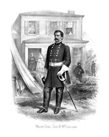 General George McClellan by John Parrot - various sizes, FulcrumGallery.com brand