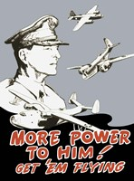 General Douglas MacArthur and Bomber Planes by John Parrot - various sizes