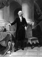 Vintage President George Washington Fine Art Print