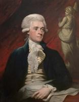 Vintage President Thomas Jefferson Fine Art Print